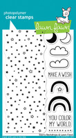 Lawn Fawn Stamps - Starry Backdrops Stamp