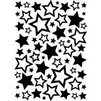Darice A2 Embossing Folder - Stars Assortment