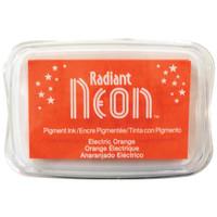 Radiant Neon Ink Pad - Electric Orange