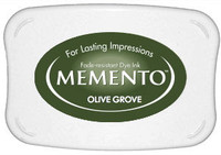 Memento Full Size Ink Pad - Olive Grove
