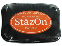StazOn Permanent Ink Pad - Pumpkin