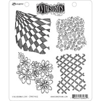 Dyan Reaveley's Dylusions Cling Stamp Collections - Background Love