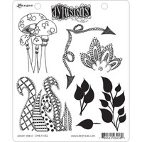 Dyan Reaveley's Dylusions Cling Stamp Collections - Doodle Parts