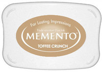 Memento Full Size Ink Pad - Toffee Crunch