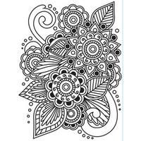 Darice A2 Embossing Folder - Henna