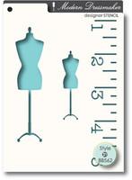 Memory Box Stencils - Dressmaker