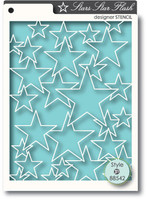 Memory Box Stencils - Star Flash