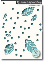 Memory Box Stencils - Leaf and Berry