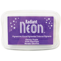 Radiant Neon Ink Pad - Electric Purple