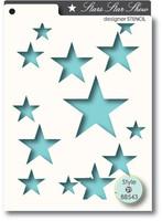Memory Box Stencils - Star Show