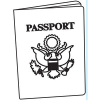 Darice A2 Embossing Folder - Passport