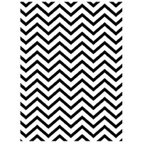 Darice A2 Embossing Folder - Chevron Background