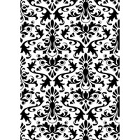 Darice 5 x 7 Embossing Folder - Damask
