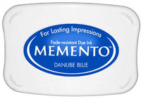 Memento Full Size Ink Pad - Danube Blue