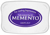 Memento Full Size Ink Pad - Grape Jelly