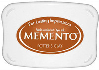 Memento Full Size Ink Pad - Potter's Clay