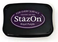 StazOn Permanent Ink Pad - Royal Purple