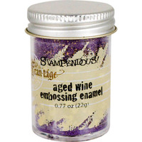 Stampendous Shabby Embossing Enamels - Aged Wine