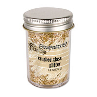 Stampendous Crushed Glass Glitter - Champagne