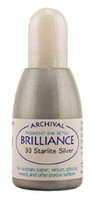 Brilliance Re-Inker - Metallic Starlight Silver