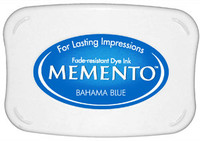 Memento Full Size Ink Pad - Bahama Blue