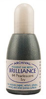 Brilliance Re-Inker - Pearlescent Ivy