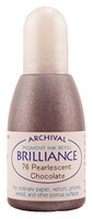 Brilliance Re-Inker - Pearlescent Chocolate