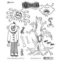 Dyan Reaveley's Dylusions Cling Stamp Collections - Mischievous Malcom