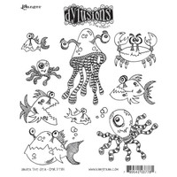 Dyan Reaveley's Dylusions Cling Stamp Collections - Under The Sea