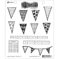 Dyan Reaveley's Dylusions Cling Stamp Collections - Bags Of Bunting