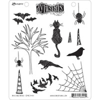 Dyan Reaveley's Dylusions Cling Stamp Collections - Bits & Bats