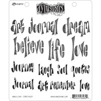 Dyan Reaveley's Dylusions Cling Stamp Collections - Word Love