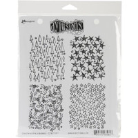 Dyan Reaveley's Dylusions Cling Stamp Collections - Christmas Backgrounds