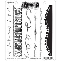 Dyan Reaveley's Dylusions Cling Stamp Collections - Bordering On The Edge