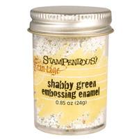 Stampendous Shabby Embossing Enamels - Shabby Green