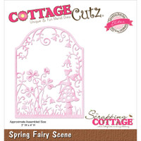 CottageCutz Elites Die - Fairy Scene