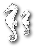 Memory Box Die - Swimming Seahorses