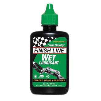 Finish Line Wet Lube 2oz Squeeze