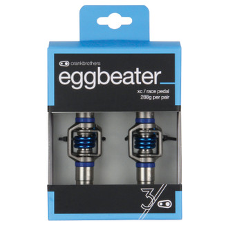 Crankbrothers Eggbeater 3 Silver/Blue