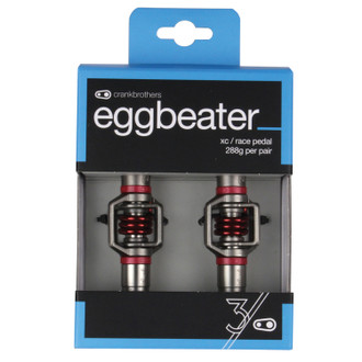 Crankbrothers Eggbeater 3 Silver/Red