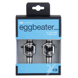Crankbrothers Eggbeater 2 Silver/Black