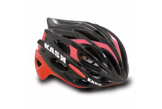 Kask Mojito Road Helmet - Black/Red