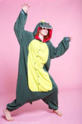 MONSTER dragon kids boys girls  costume pajamas anime fleece BCozy