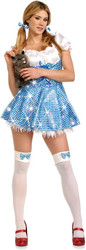 DOROTHY wizard of oz womens sexy halloween costume M