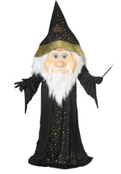 WIZARD MAGICIAN oversize mascot mens giant jumbo character halloween costume