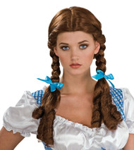 DOROTHY Wizard Of Oz Wig womens halloween costume adult