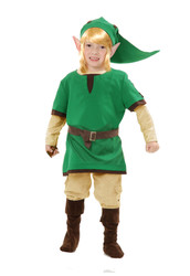 Elf Warrior costume kids XS