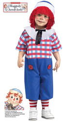 Raggedy Andy Doll Toddler Costume