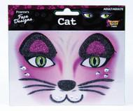 Kitty Cat Glitter Face Designs