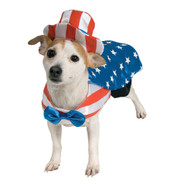 Uncle Sam Fourth of July Patriotic Pet Costume